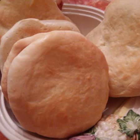 Petits pains style naan