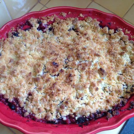 crumble aux pommes et fruits rouges cooking chef de kenwood espace recettes. Black Bedroom Furniture Sets. Home Design Ideas
