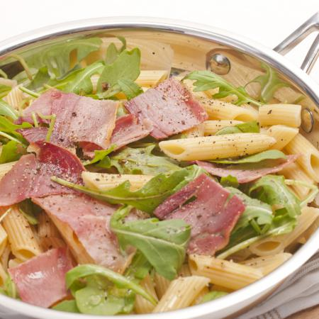 salade de penne complets au jambon cru cooking chef de. Black Bedroom Furniture Sets. Home Design Ideas